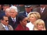 Bill Clinton Caught By Hillary Checking Out Melania Trump