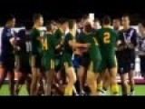 Brawls Erupt In A Schoolboy Test Between Australia And NZ