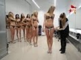 Body Measurement Held For Girls Competing For Miss Russia