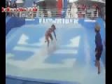 Bikini Girl Surfing Epic Fail