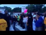 Black Panthers Lead Death Chant For Officer Darren Wilson In Ferguson, MO
