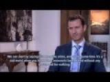 Bashar El Assad Recent Interview !