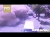 Building Suddenly Collapses In China