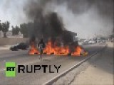Bahrain: Protesters Set Motorway Alight, Call For Overthrow Of Royal Family