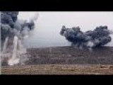 Battle For Mosul: Kurdish Peshmerga Backed By A-10 Gun Runs And JDAM Strikes Fight ISIS During Assault Towards Mosul