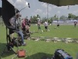 Boom Operator Falls Over Equipment