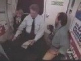 Bill Clinton Gropes Flight Attendant Under Skirt, Not Realizing Camera Is On