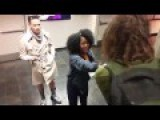 Black Woman Confronts White Guy With Dreadlocks!