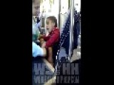 Bad Parenting, Toddler Disrespects His Mother On The Bus