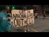 BLM March Against Curfew In US