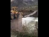 Balls Of Steel: Tractor Vs Narrow Wooden Bridge