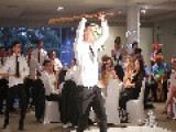 Bride And Groom Delight Guests With Haka Performance