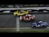Budweiser 125 Duel 1 Finish NASCAR Sprint Cup Series
