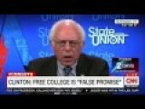 Bernie Sanders Clearly Doesn't Care That Hillary Called His Supporters Basement Dwellers