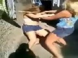 BRAZIL Two WOMEN Beat Each Other With A BROOMSTCK