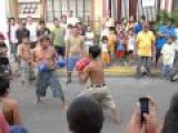 Boxing Match Street