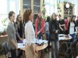 Back To School For Romania's New First Lady