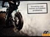 Burning Motorcycle