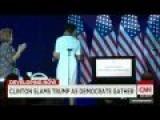 Breaking News 2015 -Hillary Clinton Targets Donald Trump In DNC Speech