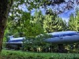 Boeing 727 Converted Into A Home In The Oregon Woods