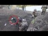 BATTLE FOOTAGE Ukr. Army In Vicinity Of Donetsk Airport OUN Recon, 95th & 93rd Brigades