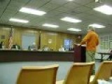 Bridgeport Man Arrested For Violating Time Limit At Township Meeting