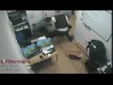British Policeman Beating On A Girl!