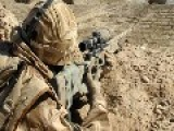 British Sniper Kills 6 Taliban With ONE Bullet No Video