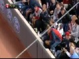 Baseball Fan Makes Awesome Foul Ball Catch While On Cell Phone
