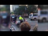 Bike Rider Tackled Seconds Before Crossing Obama's Motorcade