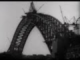 Building Of The Sydney Harbour Bridge 1932