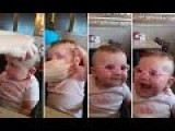 Baby Sees Parents For The First Time