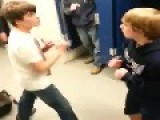 Bully Catches A Left Hook