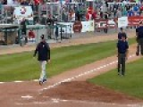 Baseball Manager Ejected From Game... Meltdown Ensues