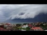Bondi Beach 'cloud Tsunami' Roll Into Sydney