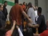 Brawl At Basketball Game