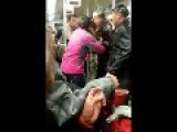 Baby Cries While Mom Fights Other On Subway
