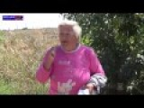 Brave Granny Risked Her Life To Save A Burned Novorussian Tank Crewman. Spoken In Russian