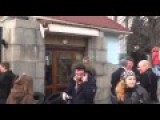 Battalions Aydar And Azov Clash With Ukraine Army At Ministry Of Defence HQ In Kiev 02 Feb 2015