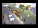 Business Owner Attempts To Escape Violent Striking NUMSA Union Members In South Africa