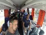 Bus Hits Pole