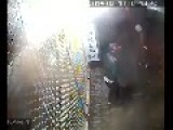 Burglar Stuck In Security Cameras