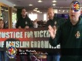 BRITAIN FIRST ACTIVISTS STORM ROTHERHAM COUNCIL BUILDING