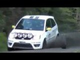 Bizarre Accident While Racing Cars Crashed Out While Running Wheels