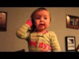 Baby Is Seriously Tripping A Phone Conversation