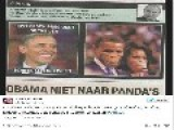 Belgian Newspaper Accused Of Racism For Picture Of Obama And Michelle As Apes