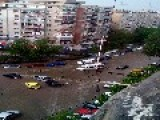 Bucharest Streets Flooded