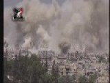 Barrage Of Rockets Pound Islamic Front In Jobar - MUST SEE