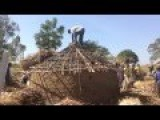 Building A Mud Hut - Uganda