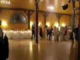 Bridesmaid Falls During Wedding First Dance